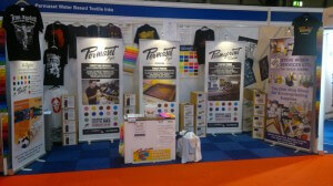 Permaset Fabric Colour Display